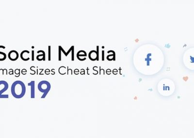 Social Media Basics: The Correct Image Sizes, Dimensions and File Types to Use [Infographic]
