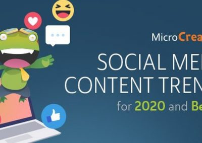 Social Media Content Trends for 2020 and Beyond [Infographic]