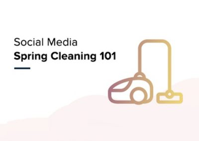 Social Media Spring Cleaning [Infographic]