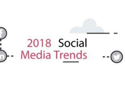 Social Media Trends in 2018 [Infographic]