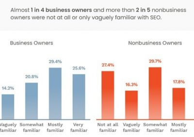 Survey Highlights Significant SEO Knowledge Gaps Among Business Owners [Infographic]
