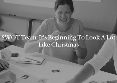 SWOT Team: It's Beginning to Look a Lot Like Christmas