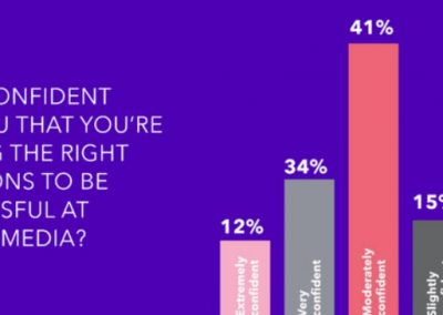 The 2018 Small Business Social Media Confidence Survey [Infographic]