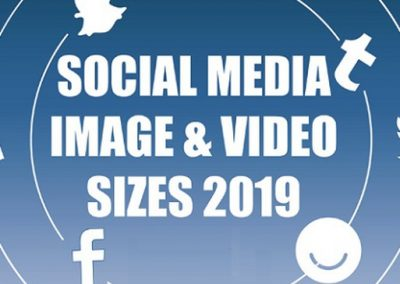 The 2019 Social Media Image Optimization Guide [Infographic]