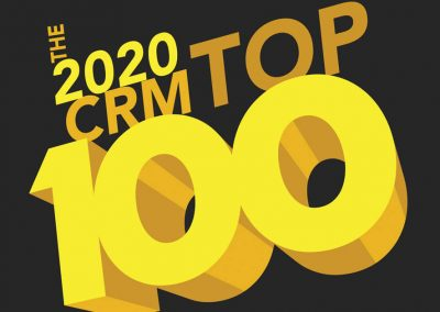 The 2020 CRM Top 100 Companies in Customer Service, Marketing, and Sales