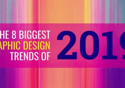 The Biggest Graphic Design Trends of 2019 [Infographic]