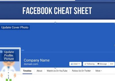 The Complete Facebook Image Sizes and Dimensions Cheat Sheet [Infographic]