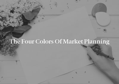 The Four Colors of Market Planning