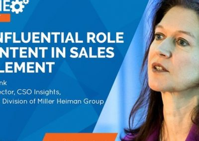 The Influential Role of Content in Sales Enablement