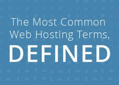 The Most Common Web Hosting Terms Defined [Infographic]