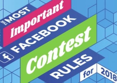 The Most Important Facebook Contest Rules for 2018 [Infographic]