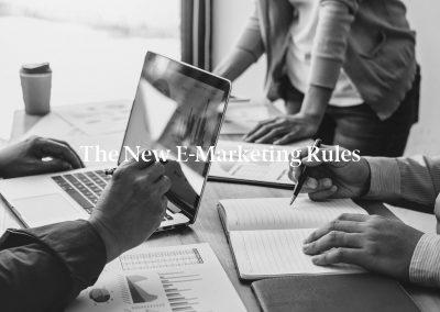 The New E-Marketing Rules