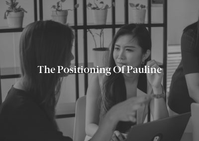 The Positioning of Pauline