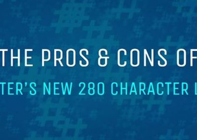 The Pros and Cons of Twitter's New 280 Character Limit [Infographic]