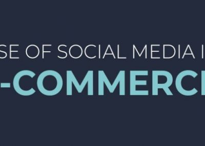 The Rise of Social Media in eCommerce [Infographic]