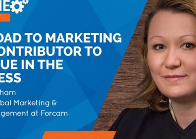 The Road to Marketing as a Contributor to Revenue in the Business