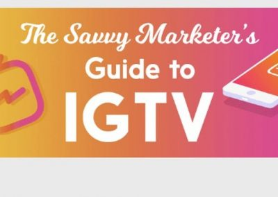 The Savvy Marketers' Guide to IGTV [Infographic]