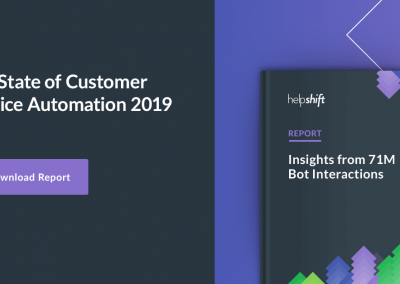 The State of Customer Service Automation 2019
