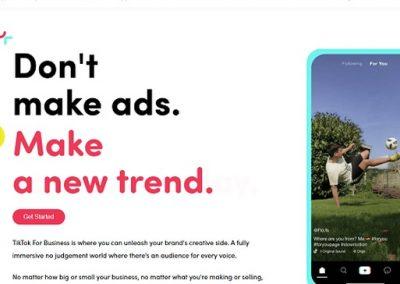 TikTok Launches 'TikTok for Business' Platform for Marketers