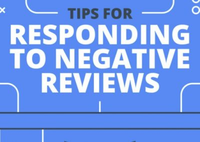 Tips for Responding to Negative Reviews [Infographic]