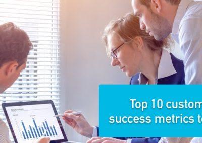 Top 10 customer success metrics to track