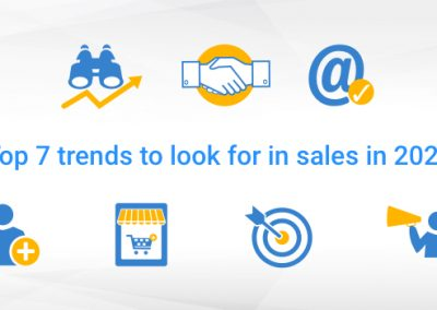 Top 7 Trends to Look for in Sales in 2020