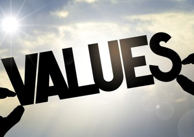 Top Companies Consider Values, Not Just Value
