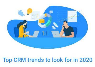 Top CRM Trends in 2020