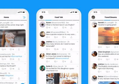 Twitter Launches Lists as Alternate, Swipeable Timelines on iOS
