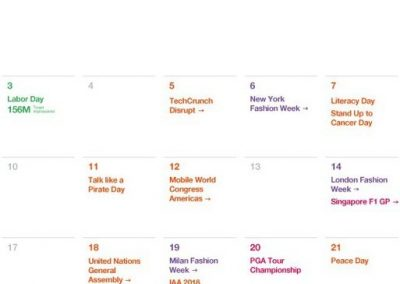 Twitter Releases Major Events Calendar for September to Help with Strategic Planning