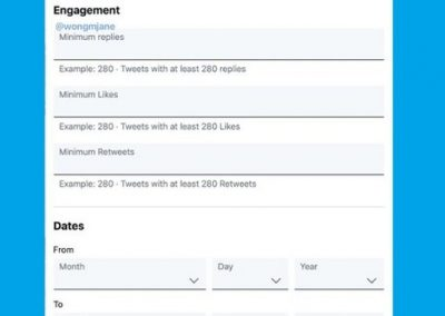 Twitter's Looking to Add New Engagement Filters to Advanced Search Queries