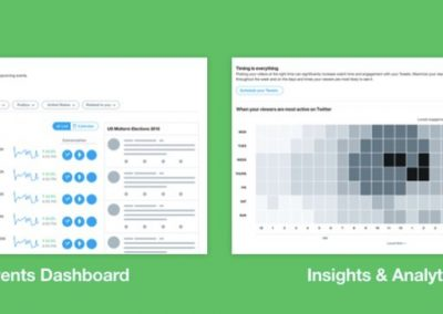 Twitter's Working on New Event and Audience Analytics Tools, Updated Desktop Layout
