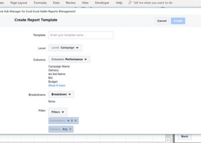Using Excel's Facebook Ads Manager to Transform Your Ad Reporting