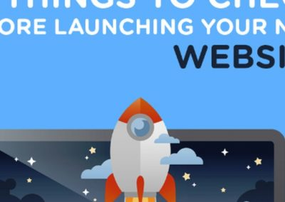 Web Design Checklist: 57 Things to Check Before Launching Your Site [Infographic]