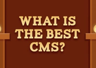 What is the Best CMS to Use for Your Business Website? [Infographic]
