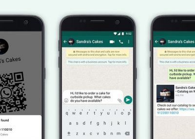 WhatsApp Adds QR Codes for Businesses, and Catalog Links to Simplify Sharing