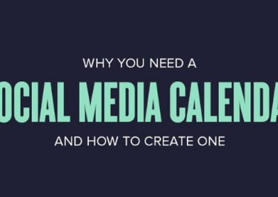 Why You Should Create a Calendar to Manage Your Social Media Posts [Infographic]