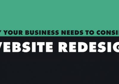 Why Your Business Needs to Consider a Website Redesign [Infographic]