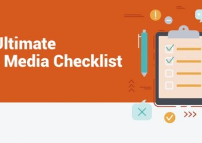 Your Ultimate Social Media Checklist [Infographic]