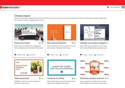 YouTube Makes its 'Video Builder' Custom Video Creation Tool Available to More Businesses