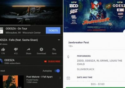 YouTube Partners with Eventbrite to Add Ticket Links to Music Videos