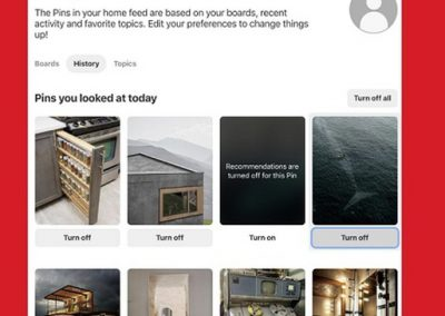 Pinterest's Rolling Out a New Option to Give Users More Control Over Algorithm Recommendations